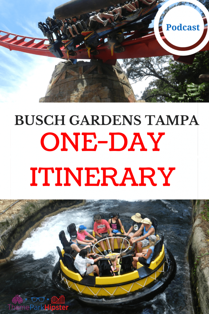 Busch Gardens Tampa Itinerary for One Day