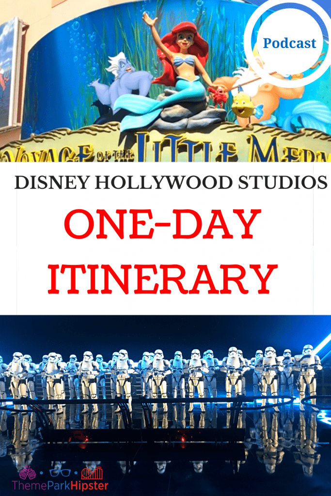 Disney Planning Hollywood Studios Itinerary for One Day