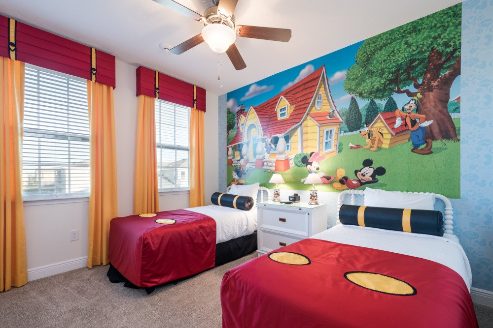 Encore Resort in Orlando 9 Bedroom with Mickey Mouse Theme