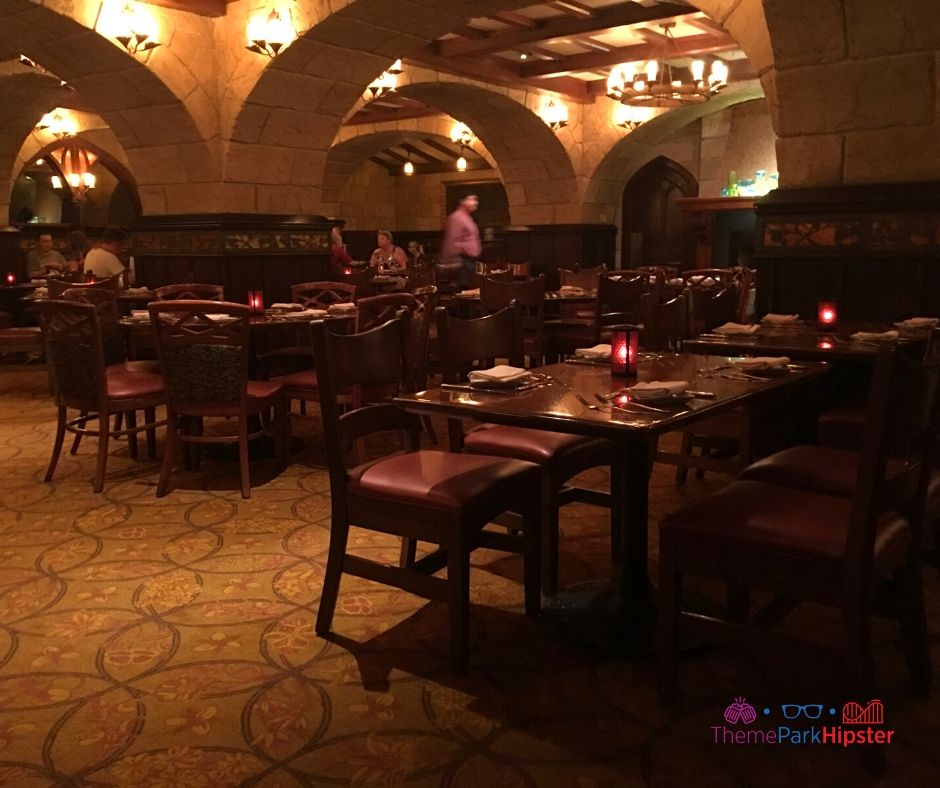 Epcot Pavilion Le Cellier Dining Room