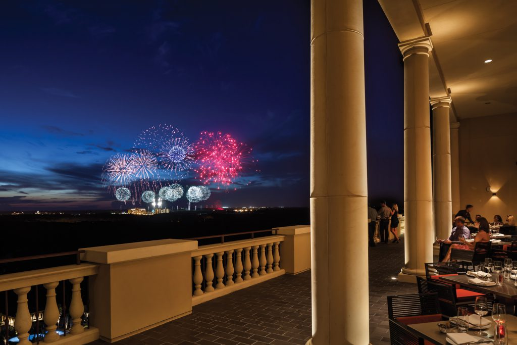 Four Seasons Resort in Orlando with Views of the Walt Disney World Fireworks