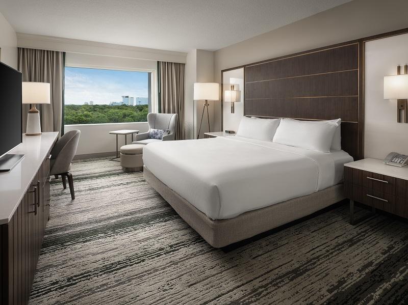 Hilton Bonnet Creek Orlando Deluxe King Guest Room