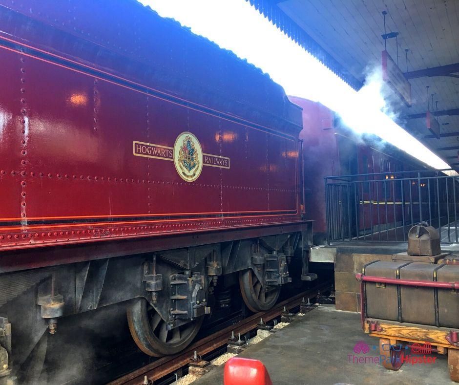Hogwarts Express Train on Hogsmeade at Universal Studios