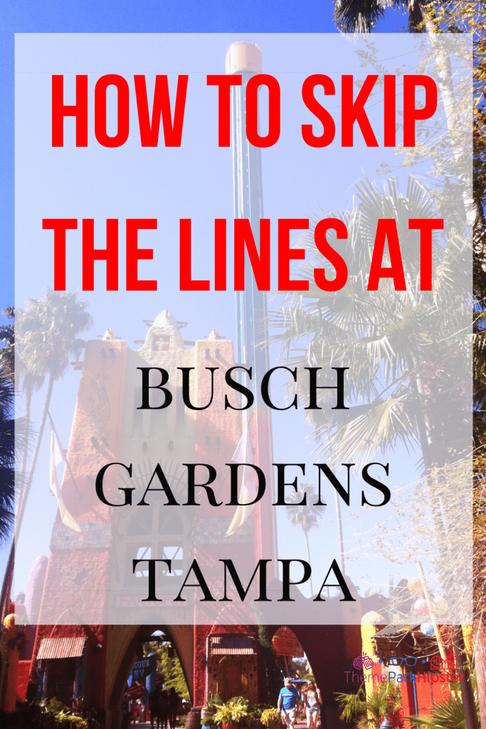 How to skip the lines at Busch Gardens with Quick Queue