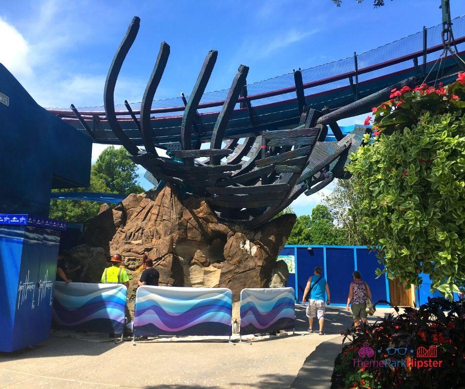 Mako Roller Coaster Exterior at SeaWorld Orlando