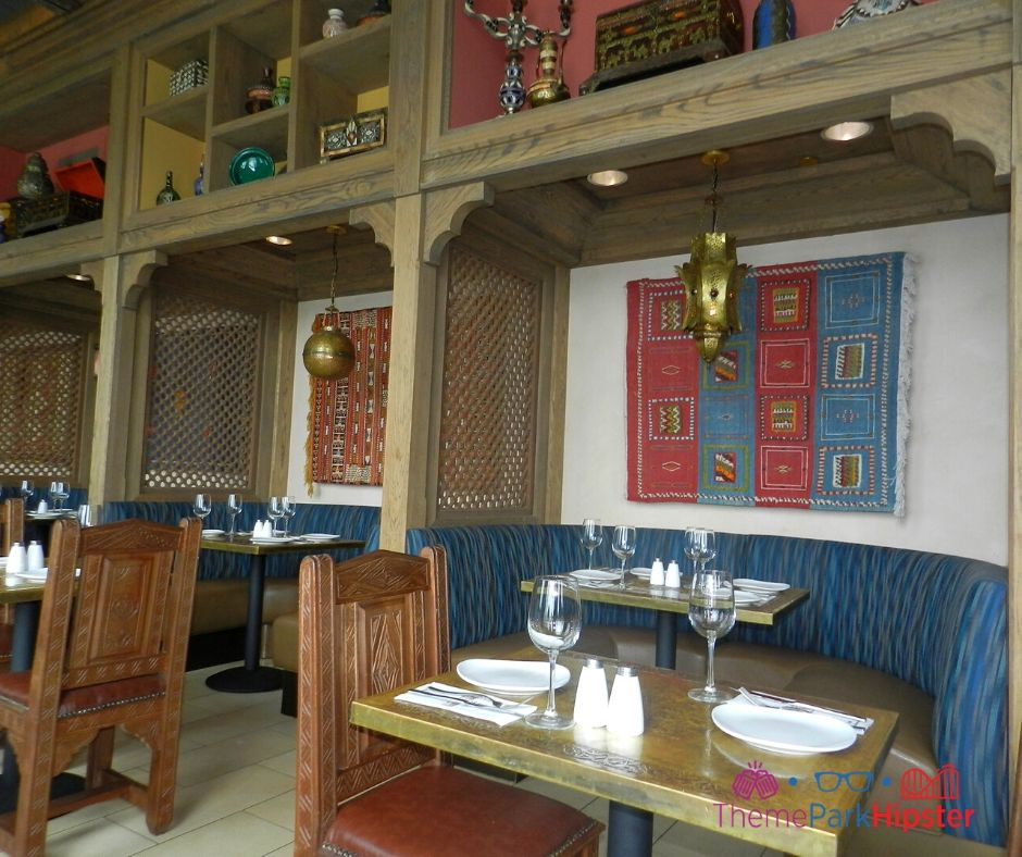Spice Road Table at Epcot Interior Decor with Mediterranean Style