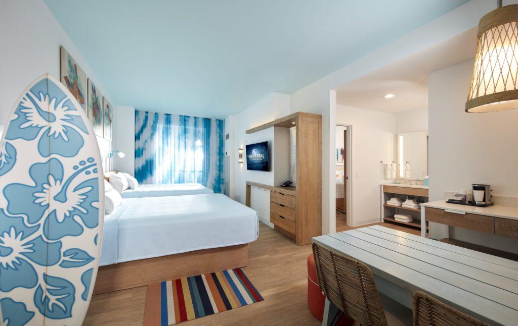 Universal Orlando On-Site Hotels: Surfside Inn and Suites 2 Bedroom Suite