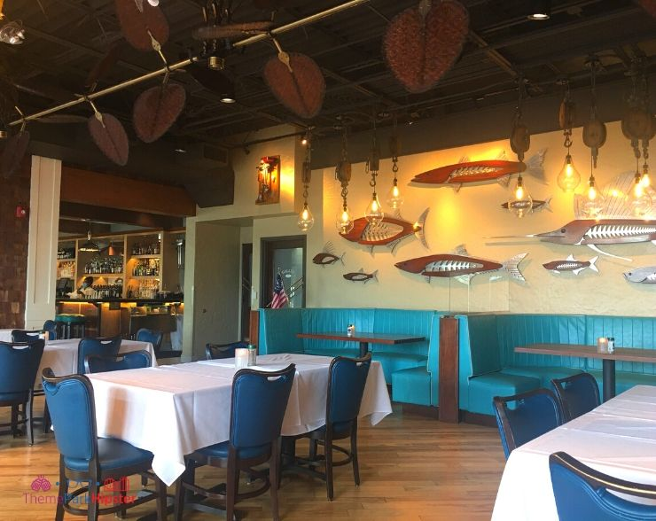 Disney Springs Restaurant Inside Dining Room