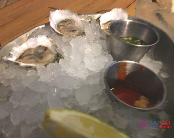 The Boathouse Orlando Oysters and Lemon