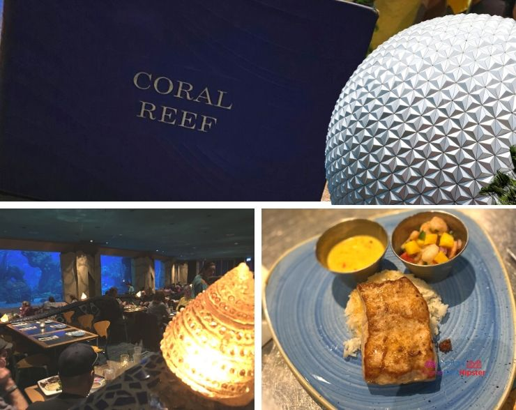 Coral Reef Restaurant at Epcot in Disney World