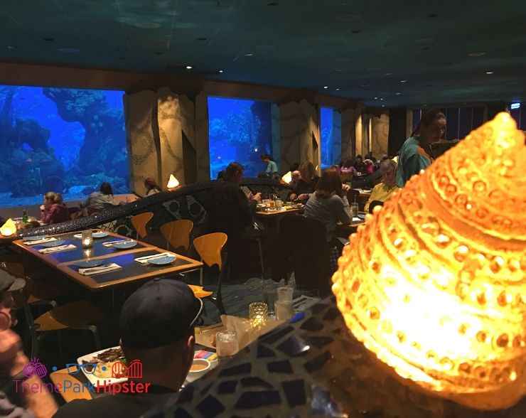 Coral Reef at Epcot Dining Interior 1