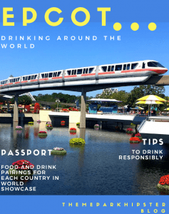 Epcot Drink Around the World Passport