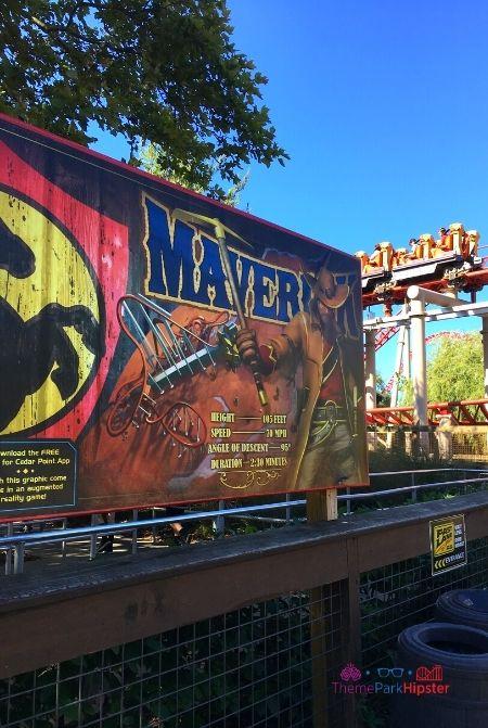 Maverick Roller Coaster Cedar Point