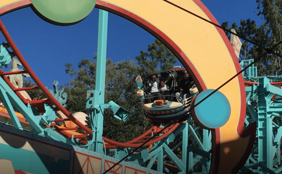 Primeval Whirl at Animal Kingdom