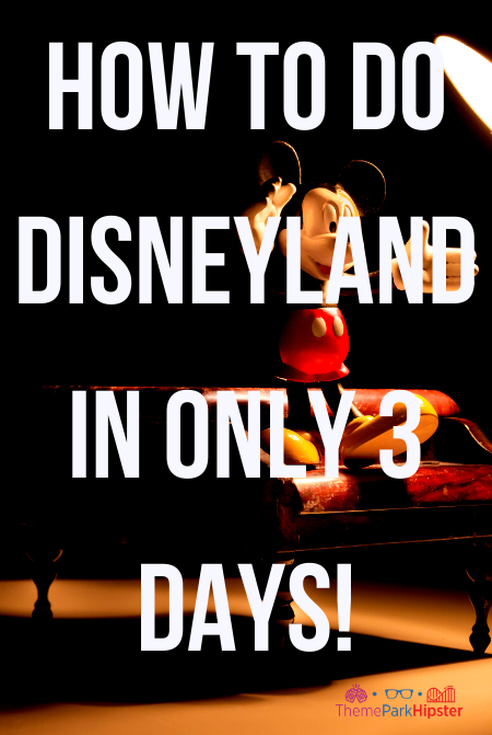 how to do disneyland in only 3 days!