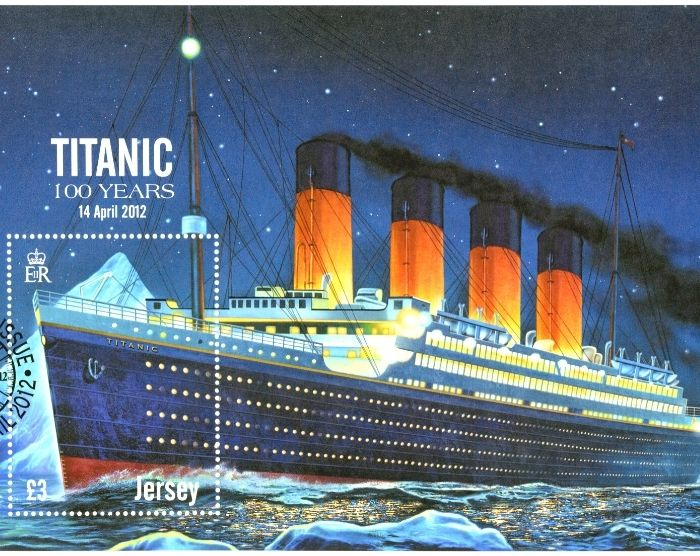 titanic post card. things to do in Orlando other than Disney