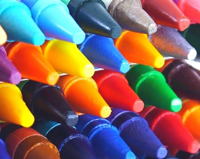 Crayons at the Crayola Experience in Orlando