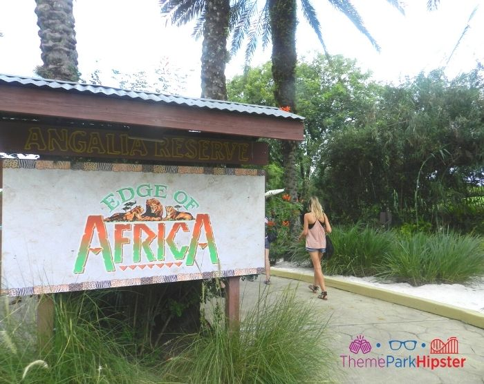 Edge of Africa Entrance at Busch Gardens Tampa