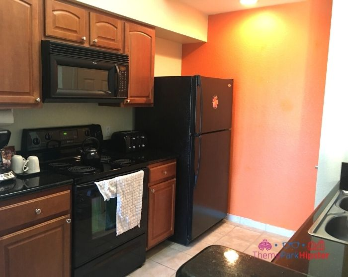 Lake Buena Vista Hotel kitchen in 2 bedroom suite