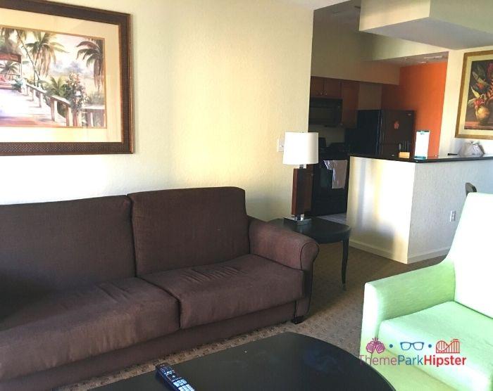 Lake Buena Vista Resort Master Living Room in 2 bedroom suite