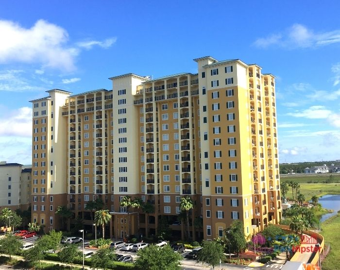 Lake Buena Vista Resort and Spa Building. Staying off-site is an easy way to do Disney World on a budget.