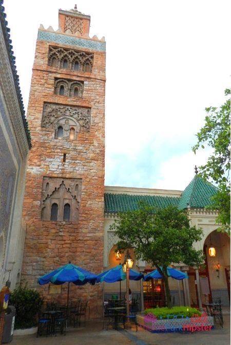 Morocco Pavilion Outdoor Area Architecture
