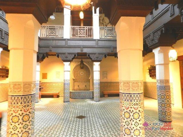 Morocco Pavilion at Epcot Fez House Architecture