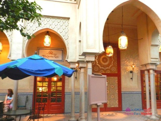 Morocco Pavilion at Epcot Tangerine Cafe