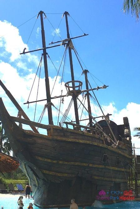Pirate Pool Area at Lake Buena Vista Resort