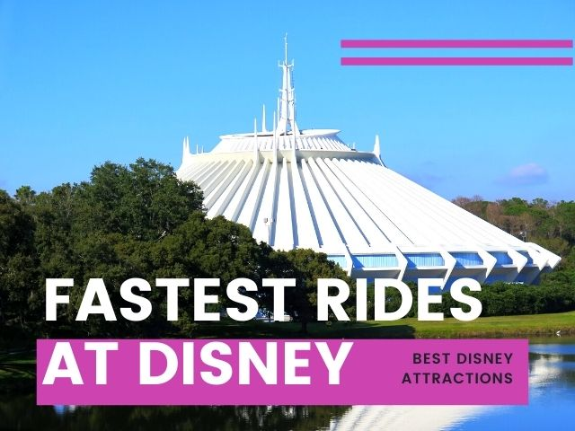 Space Mountain Sky Shot One of the Fastest Rides at Disney World