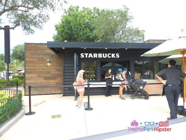 Starbucks front entrance at Epcot