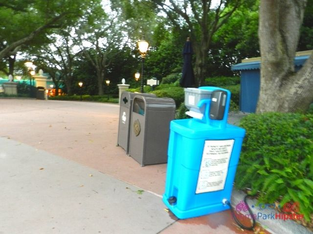 Taste of Epcot Food and Wine Hand Washing Station