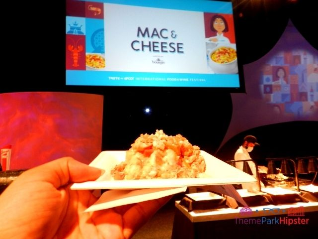 Taste of Epcot Food and Wine World Showplace Buffalo Mac and Cheese