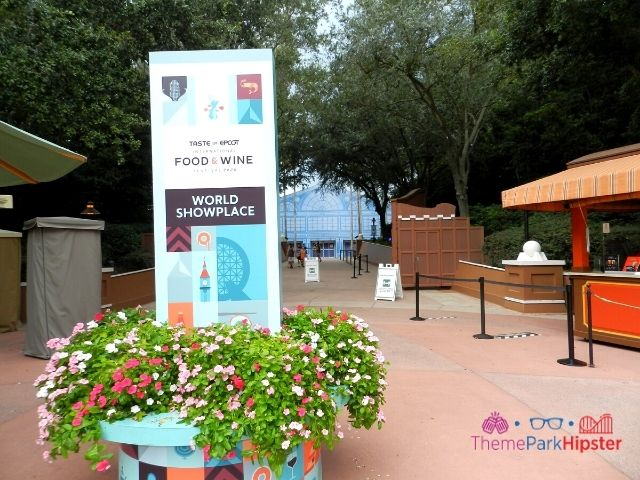 Taste of Epcot Food and Wine World Showplace Entrance