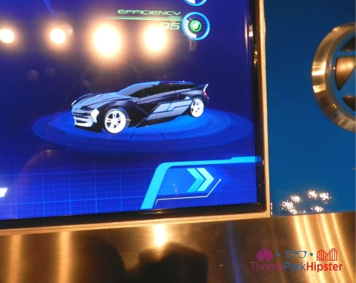 Test Track at Epcot Car Design on Computer