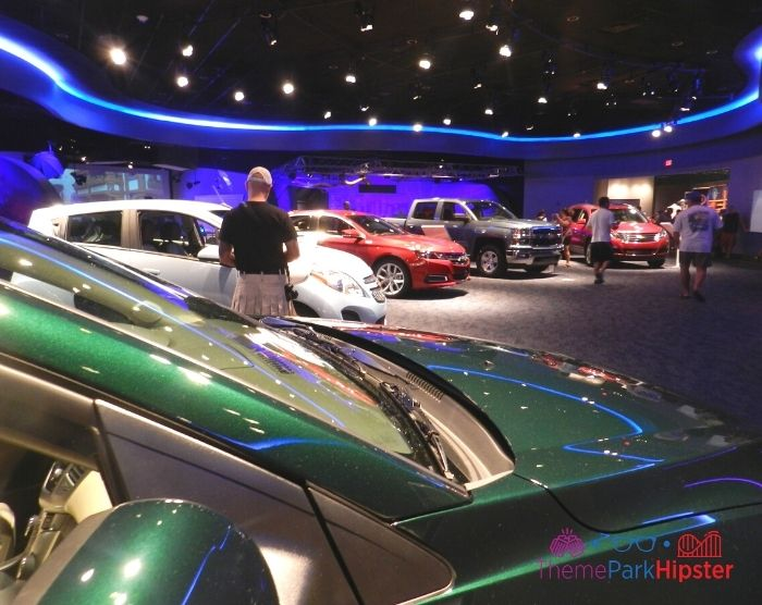 Test Track at Epcot Chevrolet Showroom Cars