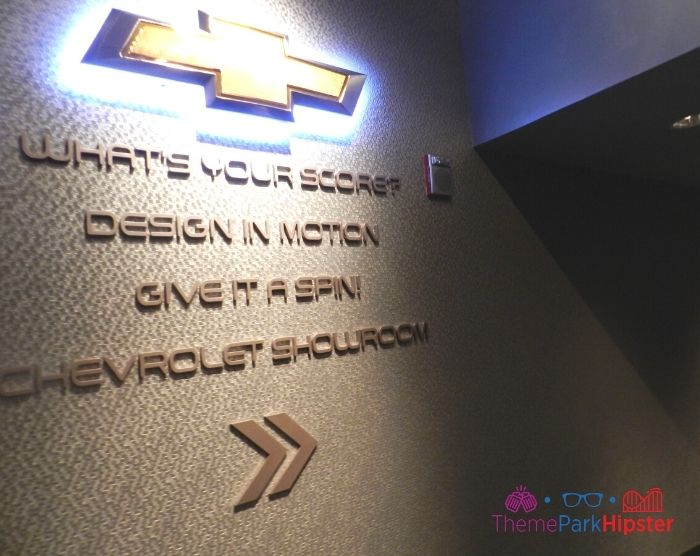 Test Track at Epcot Chevrolet Showroom Quote