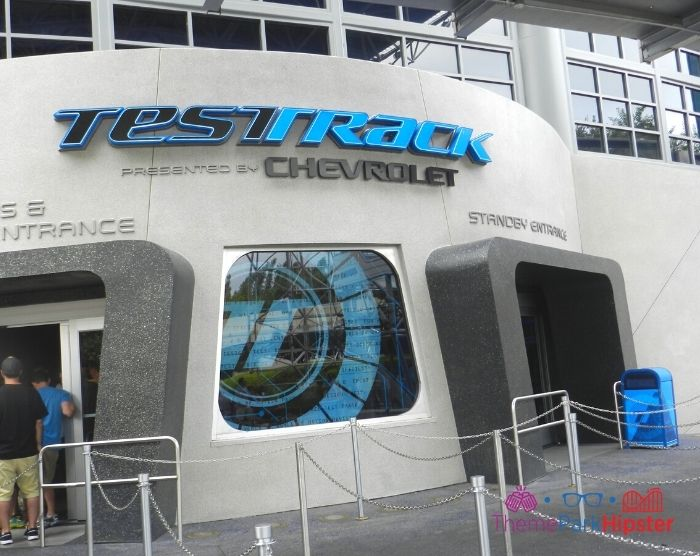 Test Track at Epcot Entrance