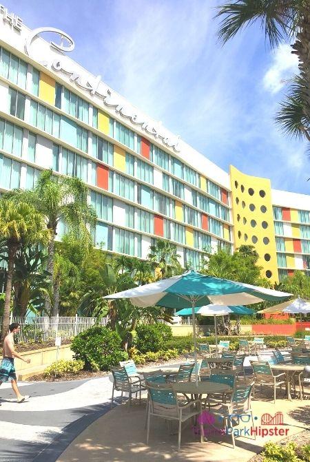 Cabana Bay Beach Resort Pool Area near Continental Section Standard Rooms