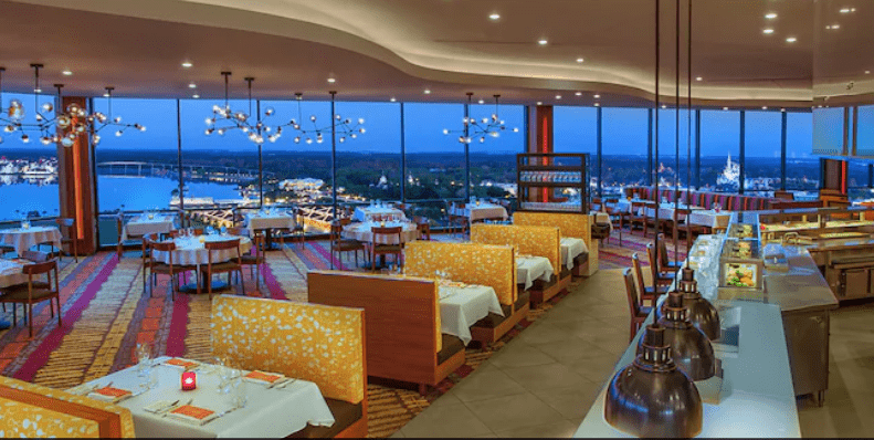 California Grill Disney Photo. disney restaurants for adults