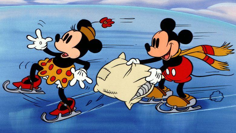 Disney Short Christmas Movie On Ice