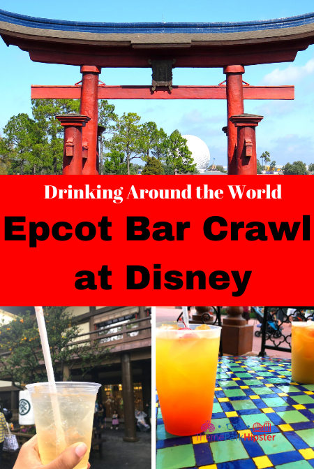 Drinking Around the World Epcot Bar Crawl at Disney