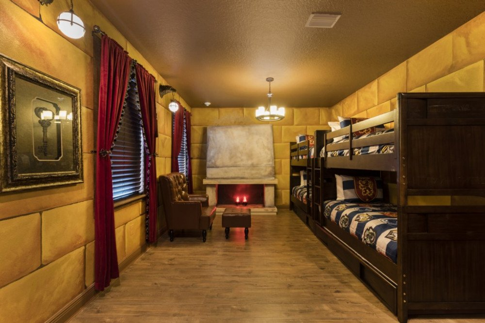 Frozen and Harry Potter Themed Villa Harry Potter Themed Room at Encore Resort