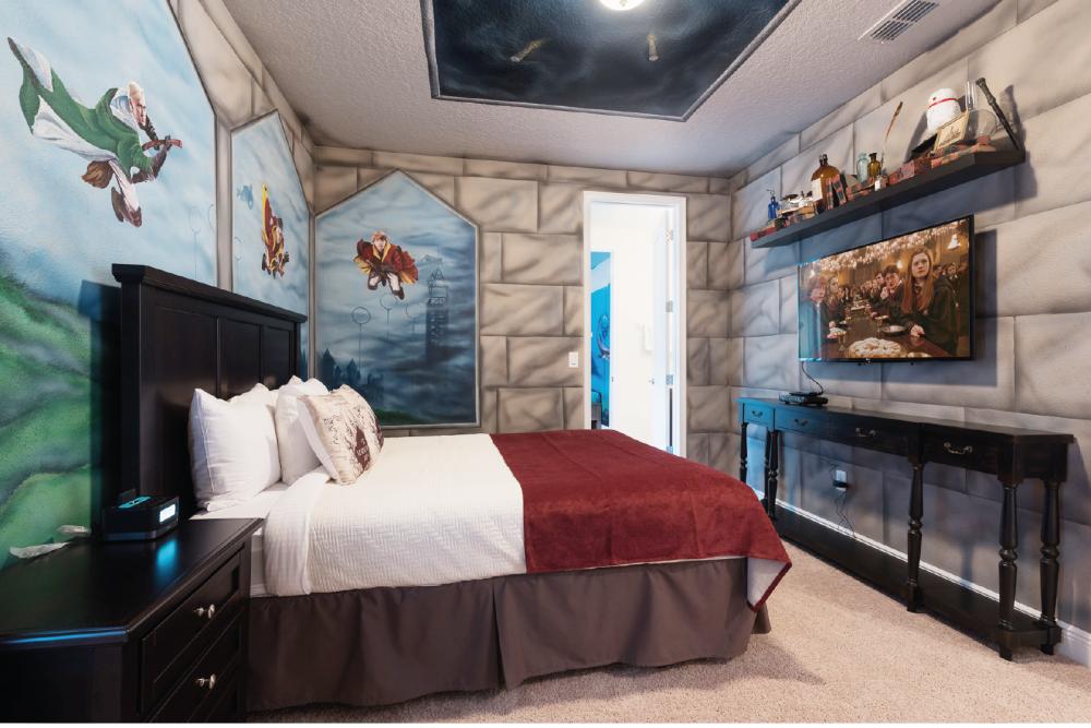 Harry Potter and Finding Nemo Themed Villa at Encore Resort. Themed Vacation Rentals Near Disney