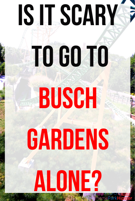 How to visit Busch Gardens alone or solo