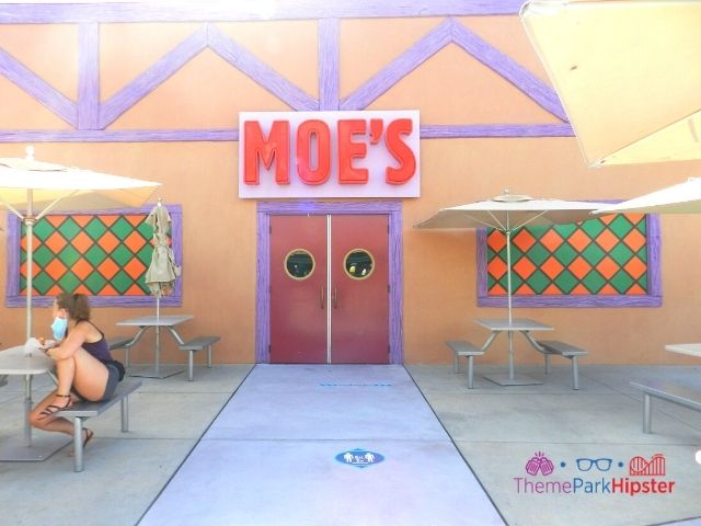 Moes Tavern Entrance at Universal Studios