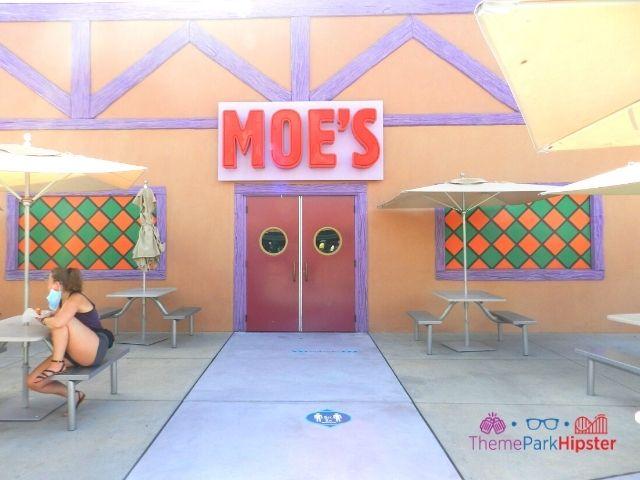 Moes Tavern Entrance at Universal Studios