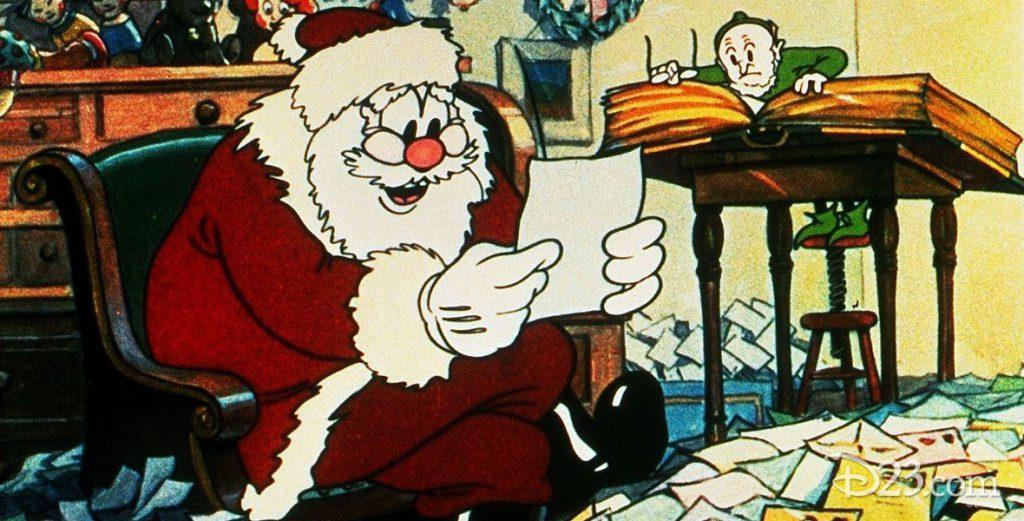 Santa's Workshop Film from Disney Company