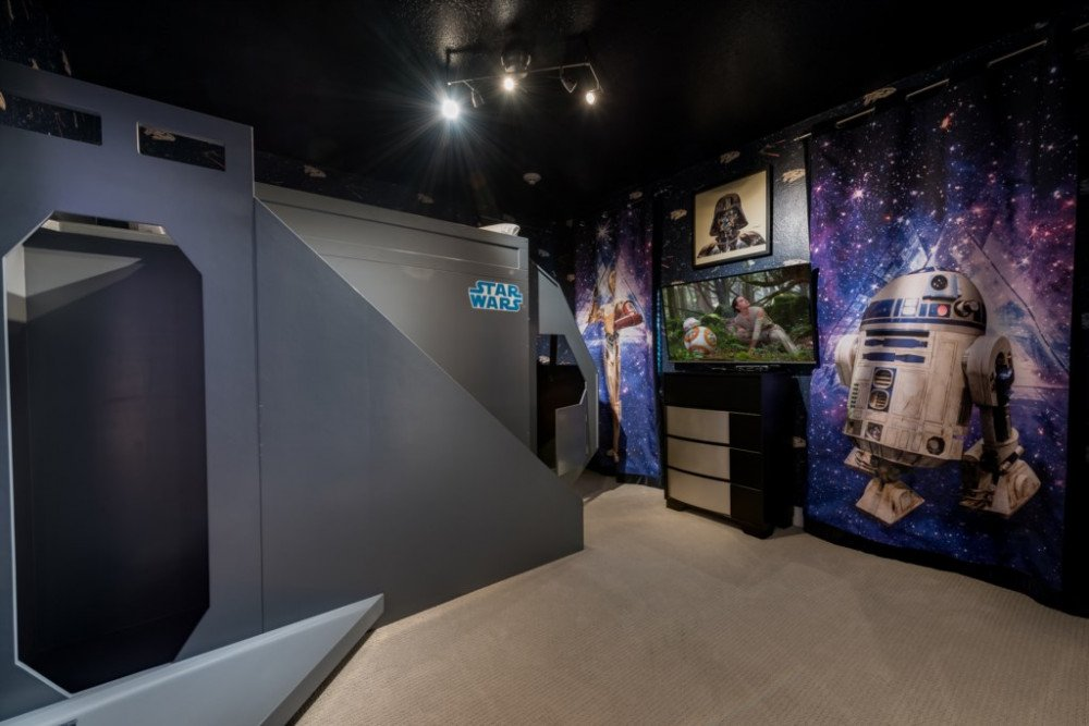 Star Wars; and Classic Automobiles Themed Villa at Encore Resort. Themed Vacation Rentals Near Disney