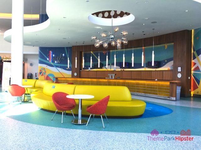 Universal Orlando Cabana Bay Beach Resort Lobby and Bar